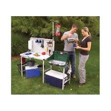 Portable Camping Sink Kitchen by Camp Kitchen Sink Table Portable Folding Camping Outdoor Cooking