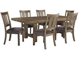 signature design by ashley tamilo 7 piece table chair set with signature design by ashley tamilo 7 piece table chair set with leaf prime brothers furniture dining 7 or more piece sets