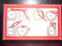 royal gallery collections 7 mini photo frame ornaments