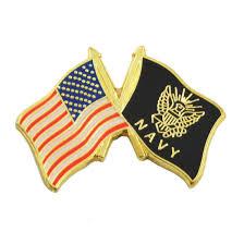 Black And Yellow Flag American Flag U0026 Navy Flag Red U0026 Black Lapel Pin 1