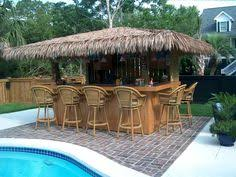 Design Inspiration This Is A Friends Home Bar That Lives In LA - Tiki backyard designs