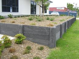 Ideas For Retaining Walls Garden by Simple Retaining Wall Ideas For Slope Best House Design