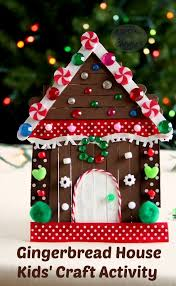 storybook gingerbread house for a new tradition kid