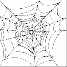 brilliant spider coloring pages printable with spider coloring