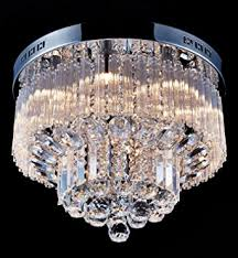 Modern Ceiling Light Fixture by Saint Mossi Chandelier Modern Crystal Raindrop Chandelier Lighting