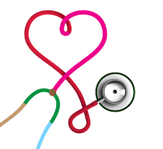 how to illustrate a stethoscope icon