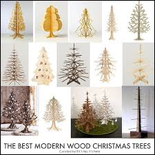 modern christmas tree the top modern wood christmas trees if it s hip it s here