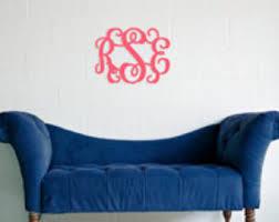 Door Monogram Decoration Monogram Door Decor Etsy