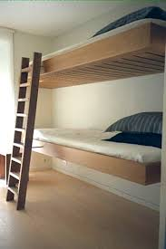 Small Bunk Beds Cantilevered Bunk Beds For Small Spaces Apartment Therapy