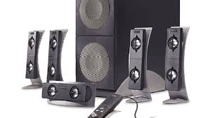 Attractive Computer Speakers Altec Lansing 5100 5 1 Speaker System Review Cnet