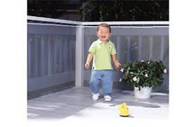 safety 1st railnet balcony u0026 deck railing guard child safety