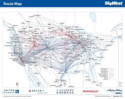 Alaska Air Map by Skywest Airlines To Open A New Maintenance Base At South Bend