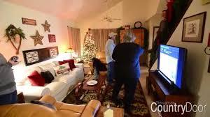 country door home decor 2014 country door holiday decor sweepstakes winner living room