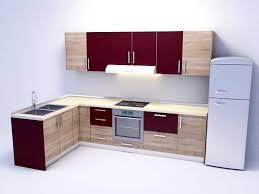 Model Kitchen 3d Laminate Kitchen Cupboards Cgtrader