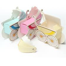 big sale 10pcs wedding candy box stroller shape party wedding baby