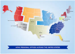 Los Angeles Regions Map by Careers At Aipac Aipac Org