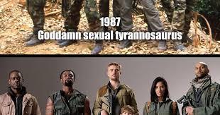 Sexual Tyrannosaurus Meme - predator millennials album on imgur