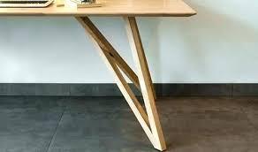 pieds de bureau pied de table metal design pied de bureau design pieds de bureau