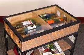 wine rack glass top wine rack table glass top wrought iron wine