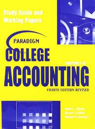 paradigm college acct lawrence dansby kaliski 9780763820039