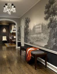 SuperbMuralWallpaperVintageDecoratingIdeasImagesinDining - Dining room mural