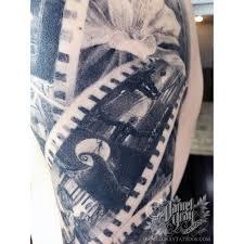 a closer look healed filmstrip half sleeve by daniel gray of