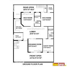 House Design 15 30 Feet House Plan For 33 Feet By 73 Feet Plot Plot Size 268 Square Yards