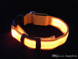 2018 Dog Collars Usb Charging Collar Double Sided Exposure Led