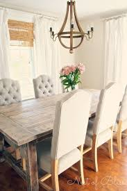 Plush Dining Room Chairs Marvelous Design White Rustic Dining Table Plush Dining Room