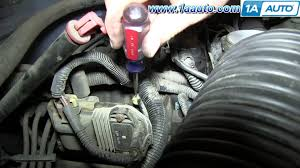 how to install replace manifold absolute pressure sensor map 1996