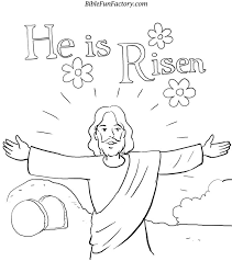 he is risen coloring page many interesting cliparts