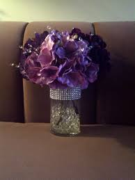 Water Bead Centerpieces by Water Bead Centerpieces Wedding Centerpiece With Purple Water