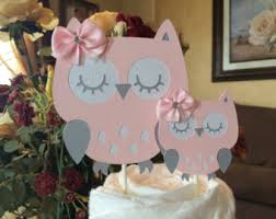 owl cake toppers owl cake topper for baby shower sorepointrecords