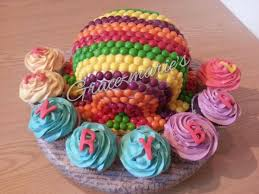 30 best cakes images on pinterest skittles cake cake decorating