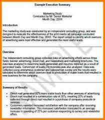 6 executive summary example resume reference