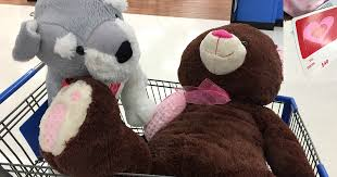 stuffed teddy bears walmart com walmart 50 off valentine u0027s day clearance possible jumbo bears