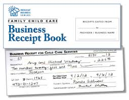 Home Health Care Invoice Template by Redleaf Press Family Child Care Business Receipt Book