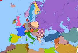 map or europe fall of the berlin wall historical atlas of europe 10 november