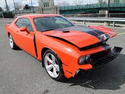 Dodge Challenger Orange - 2009 dodge challenger srt8 repairable rebuilder for sale