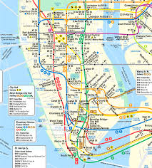 map of nyc streets manhattan subway map with streets new york city maps throughout