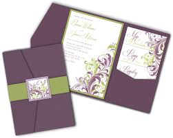 wedding pocket invitations folded wedding invitations wedding corners