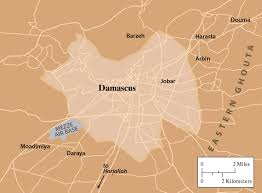 Damascus Syria Map by How Assad Is Winning By Charles Glass The New York Review Of Books