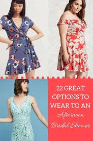 what to wear to an afternoon bridal shower huffpost