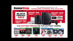 what time does gamestop black friday start what time does