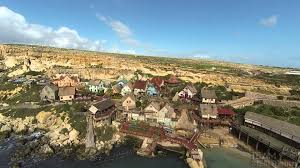 popeye village popeye village malta from our perspective youtube