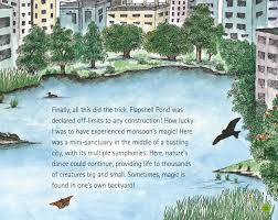 wildlife in a city pond kids stories bedtime stories