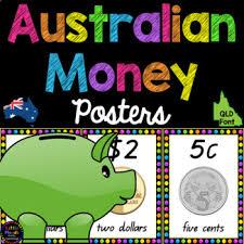 australian money posters queensland font australian money and math