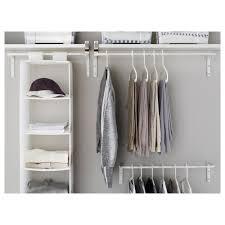 Shelf With Clothes Rod Mulig Clothes Bar Ikea