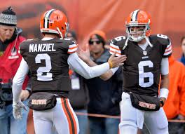 Manziel Benched Brian Hoyer Not Johnny Manziel To Start At Qb For Browns