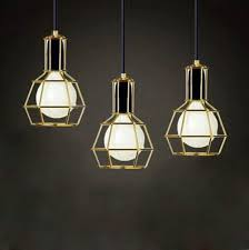 Creative Lighting Ideas American Vintage Edison Pendant Ls Chrome Bulb Holder Dining
